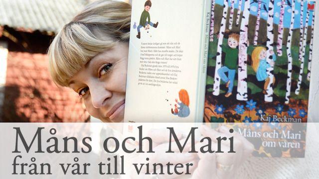Måns och Mari från vår till vinter - romani chib/kaale : Om vintern, del 2