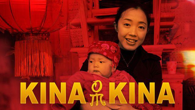 Kina om Kina - syntolkat : Mer än halva himlen