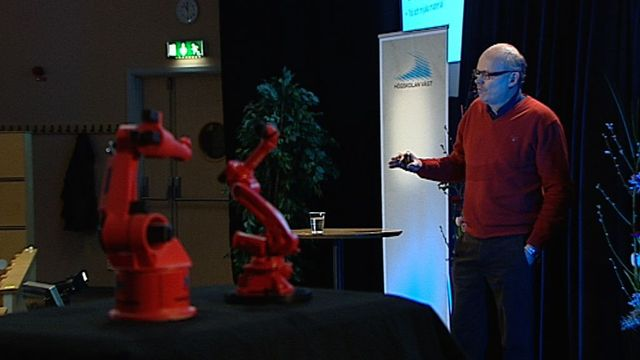 UR Samtiden - Forskning i väst : En robot som kollega