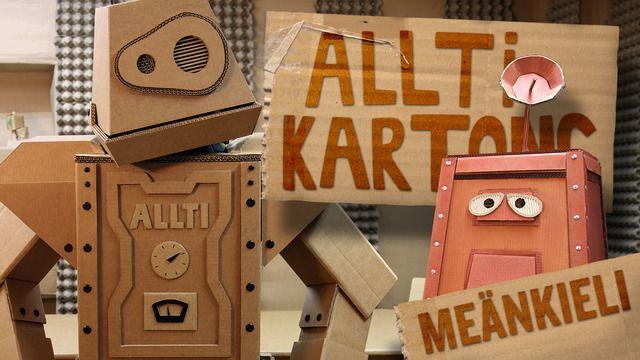 Allti Kartong - meänkieli : Monster