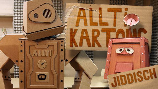 Allti Kartong - jiddisch : Maskinen