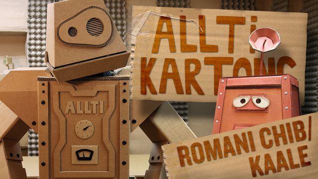 Allti Kartong - romani chib/kaale : Maskinen