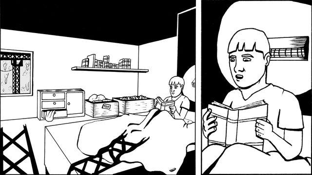 Moderna spökhistorier - meänkieli : Lyftkranen