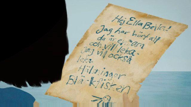 Ellabella får ett brev : Bläckfisken