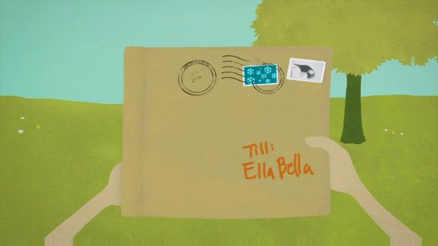 Ellabella får ett brev : Pingvinfamiljen