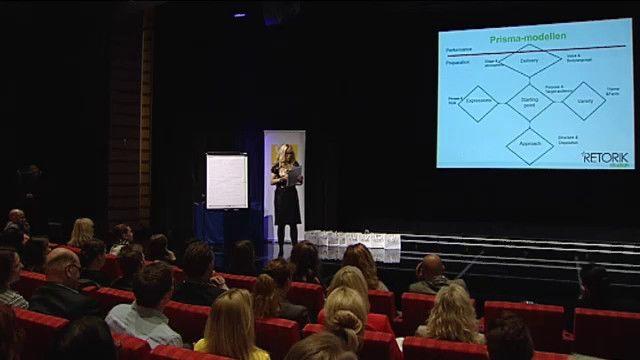 UR Samtiden - Retorikdagen 2013 : Att framföra sitt budskap på bästa sätt