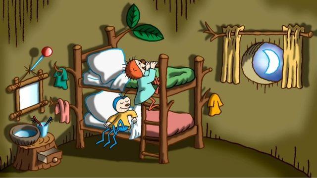 Imse och Vimse : Svårt att sova