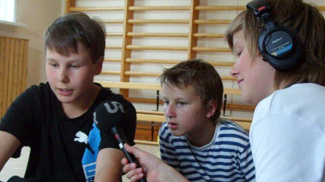 Radioskrivarklubben - nordsamiska : Gubben och gumman