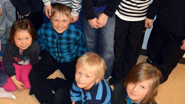 Radioskrivarklubben - nordsamiska : Kossan Hetta och musen Myra