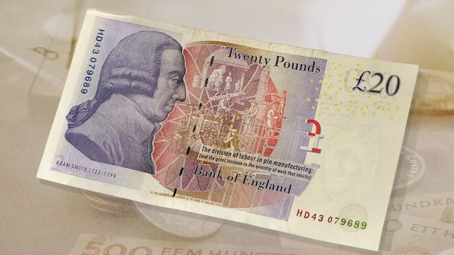 Bildningsbyrån - ekonomi : Adam Smith, moralen och girigheten