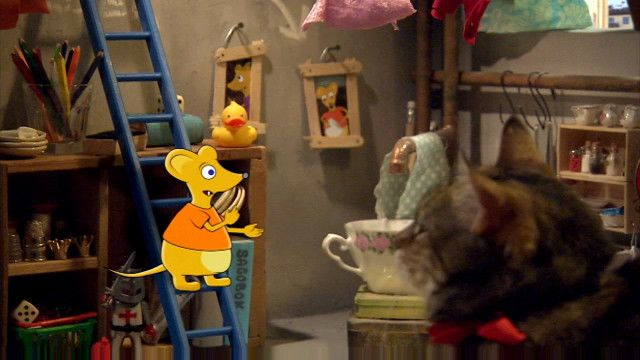 Katten, musen, tiotusen : Mönster och matte