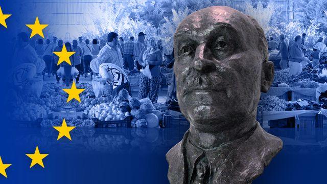 Bildningsbyrån EU : Konjaksförsäljarens frö till EU