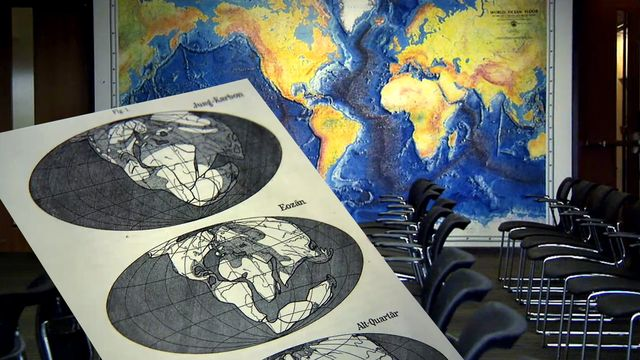 Bilderna som förändrade vetenskapen : Wegeners kontinentaldrift