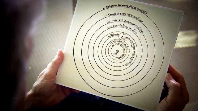 Bilderna som förändrade vetenskapen : Kopernikus världsbild