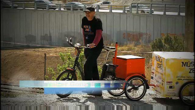 Energy bits : Konsert med cyklars kraft