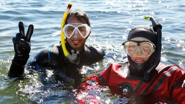 Badsmart : Under vatten