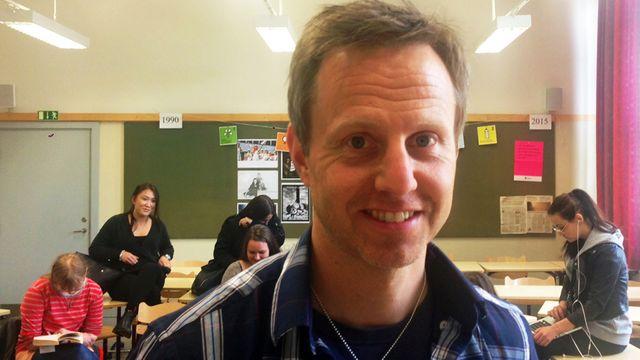 Lärarrummet : Att undervisa i demokrati