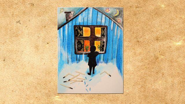 H.C. Andersen - romani chib/ arli : Den lilla flickan med svavelstickorna