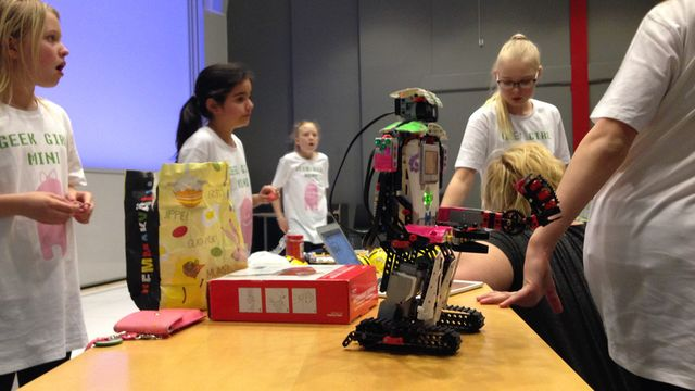 Barnaministeriet dokumentär : Geek Girl Mini