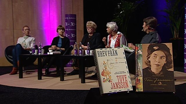 UR Samtiden - Bokmässan 2014 : Tove Jansson 100 år