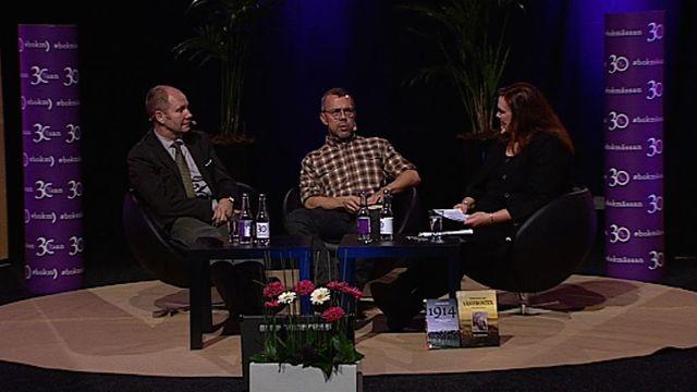 UR Samtiden - Bokmässan 2014 : Människan bakom gasmasken