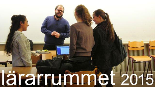 Lärarrummet : Tre pedagoger - om skapande i skolan