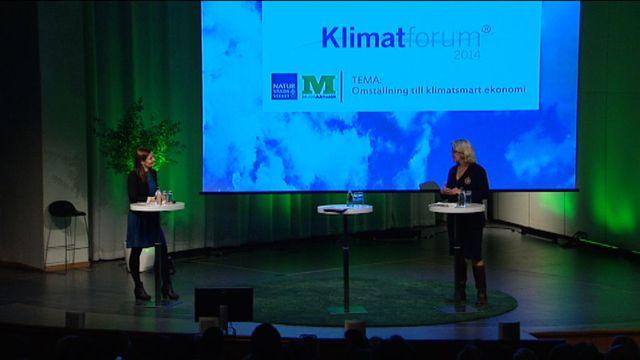 UR Samtiden - Klimatforum 2014 : Var står vi i klimatfrågan i dag?