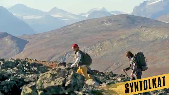 Geografens testamente - eller Den stora Sverigeresan - syntolkat : De höga fjällen