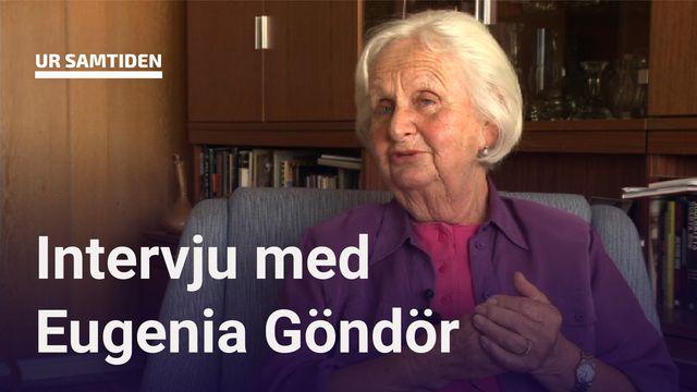 UR Samtiden - Förintelsens överlevande berättar : Eugenia Göndör - Att växa upp med döden