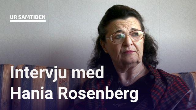UR Samtiden - Förintelsens överlevande berättar : Hania Rosenberg - hela intervjun