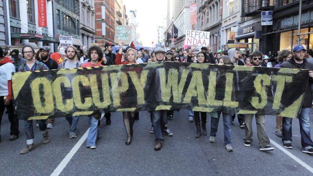 Occupy - protesterna på Wall Street