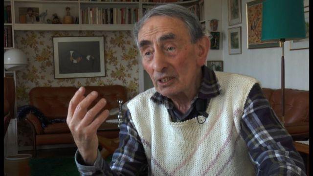 UR Samtiden - Förintelsens överlevande berättar : Bruno Frister - Dödsmarschen från Auschwitz
