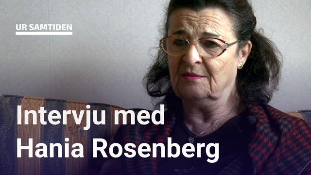 UR Samtiden - Förintelsens överlevande berättar : Hania Rosenberg - Vi ska flyga till Sverige
