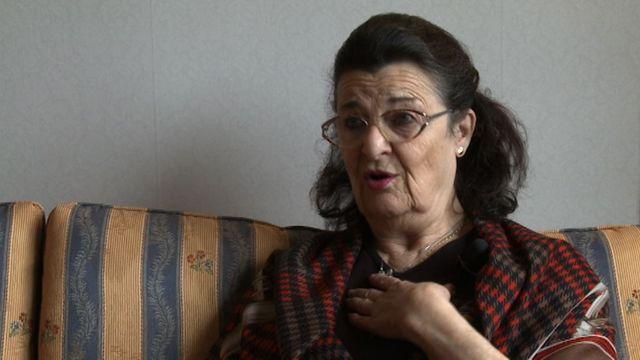 UR Samtiden - Förintelsens överlevande berättar : Hania Rosenberg - Vi har alla överlevt på olika sätt