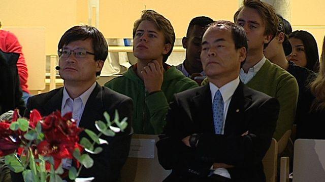 UR Samtiden - Nobel för gymnasister 2014 : Populärt om Nobelpriset i fysik