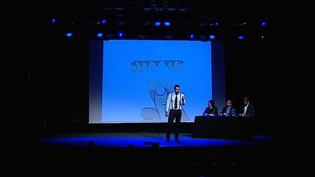 UR Samtiden - Forskar-Grand Prix 2014 : 3D-printa tänder