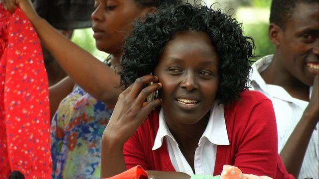 Den mobila revolutionen : Mobiltelefonen kopplar upp Kenya