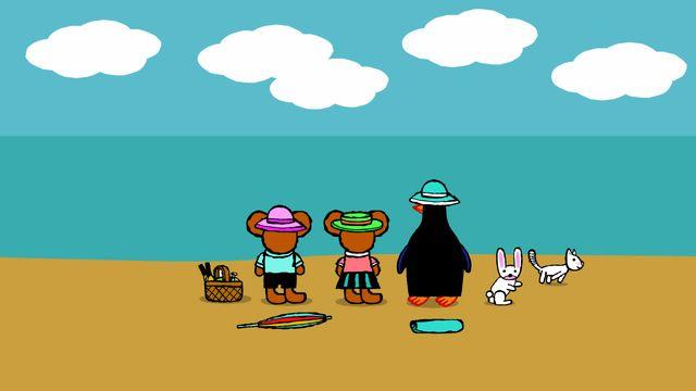 Pinos dagbok : Pino på stranden