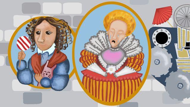 Historiedepartementet : Kristina och Maria Eleonora