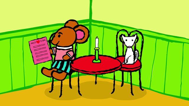 Pinos dagbok - meänkieli karaoke : Pinos restaurang