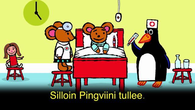 Pinos dagbok - meänkieli karaoke : Pino på sjukhus