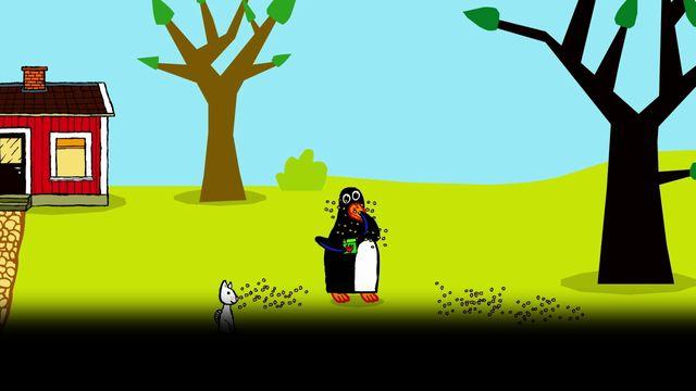 Pinos dagbok - meänkieli karaoke : Pinos trädgård