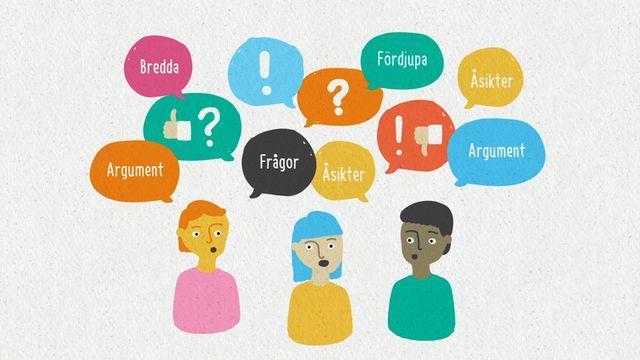 Förstå kunskapskraven : Att föra en diskussion framåt
