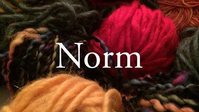 Bildningsbyrån - ordförrådet : Norm