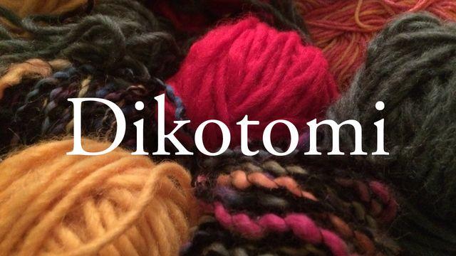 Bildningsbyrån - ordförrådet : Dikotomi