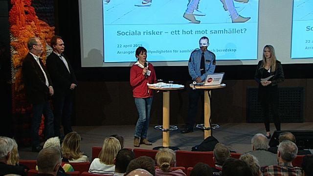 UR Samtiden - Är sociala risker ett hot mot samhället? : Panelsamtal om social grogrund och sociala risker