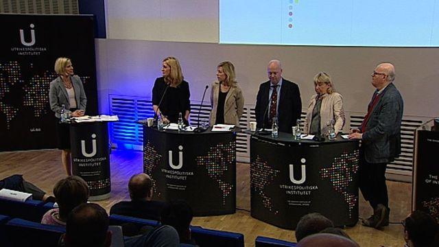 UR Samtiden - Vart är USA på väg? : Paneldiskussion