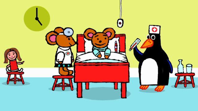 Pinos dagbok - kirundi : Pino på sjukhus