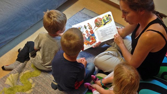 Lärarrummet : Om blommor och bin i förskolan