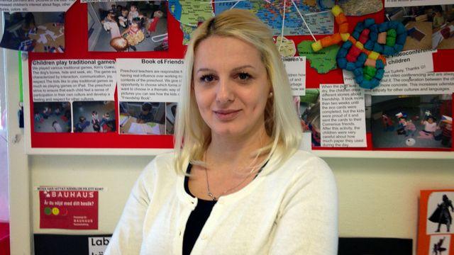 Lärarrummet : Änghagen anropar Europa